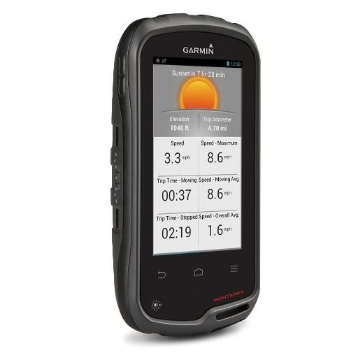 Garmin Monterra Wi-Fi Enabled GPS Navigator Pre-Loaded US TOPO 010-01065-03