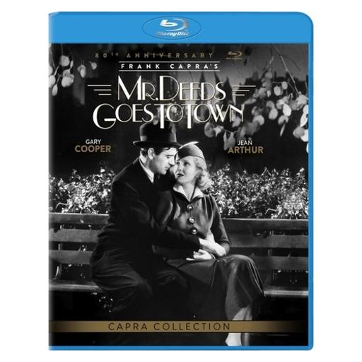 Mr deeds go to town (blu ray w/ultraviolet) (80th anniversary ed) (b & w) 8PR7DG9RNVLTLQDJ