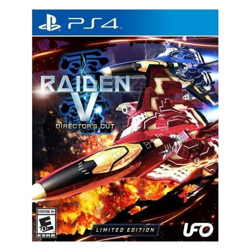 Raiden v: directors cut limited edition with soundtrack cd K4XD2ICV562FZHA0