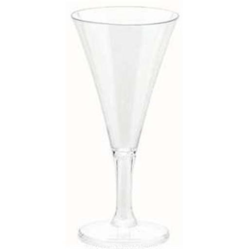 Amscan 357804.86 2.5 oz. Mini Champagne Flute, Clear - Pack of 120