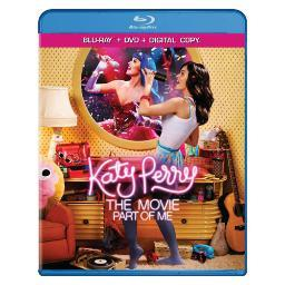 Katy perry-movie-part of me blu ray/dvd w/digital copy      nla BR147154