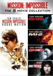 Mission impossible 5-movie collection (dvd) (5discs) D59174276D