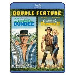Crocodile dundee/crocodile dundee 2 (blu ray/double feature) (2discs) BR7915010