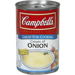 CAMPBELLS SOUP CRM OF ONION-10.75 OZ -Pack of 12
