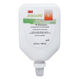 Avagard D Antiseptic With Moisturizers Instant Gel Hand Sanitizer 1000 Ml Wall Mount Bottle | Total Quantity: 1