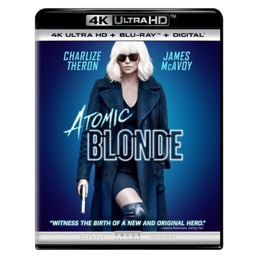 Atomic blonde (blu-ray/4kuhd mastered/ultraviolet/digital hd) JBFCH0IZM4VRXNGZ
