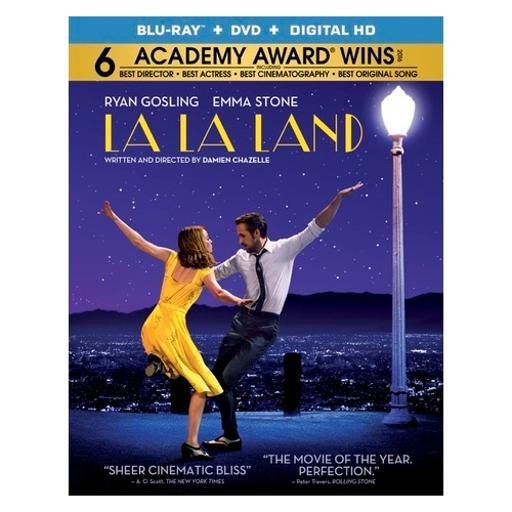 La la land (blu ray/dvd w/uv) 5UBTCELCS7H688VE