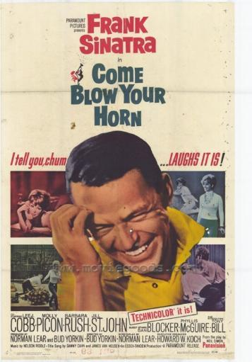 Come Blow Your Horn Movie Poster Print (27 x 40) TEP8M2JIUP9VAV7J