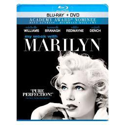 My week with marilyn (blu-ray/dvd/combo) BR24701