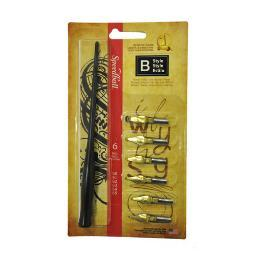 Speedball art products 2956 b style lettering set 2956