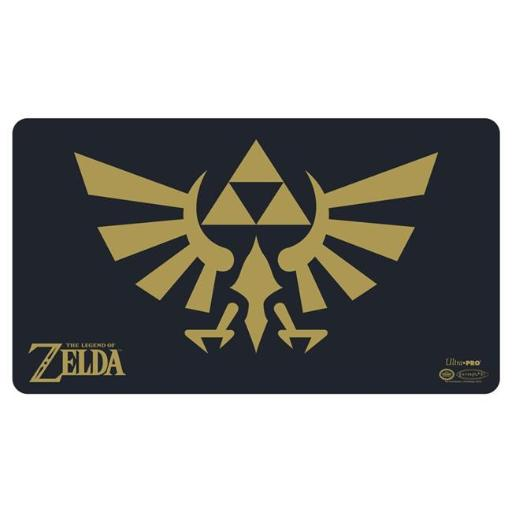 Ultra Pro ULP85207 24 in. Wide x 13.5 in. Tall The Legend of Zelda - Black & Gold Playmat with Playmat Tube N7NOQMANDXDFDFKQ
