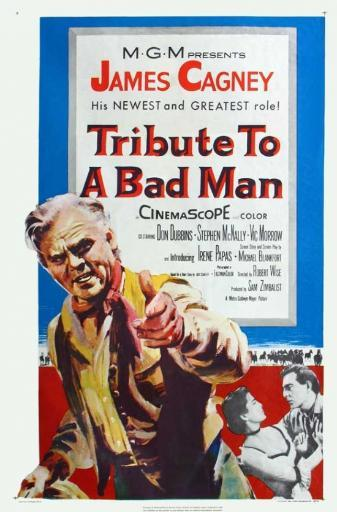 Tribute to a Bad Man Movie Poster (11 x 17)