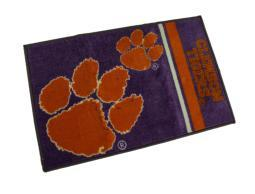 Clemson University Tigers 20 X 30 Tufted Non-Skid Officially Licensed Bath Rug