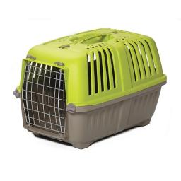 Midwest 1422SPG Spree Plastic Pet Carrier, Green