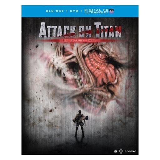Attack on titan the movie-part 1 (blu ray/dvd combo) 8GW7BJEFQJ9OX1AX