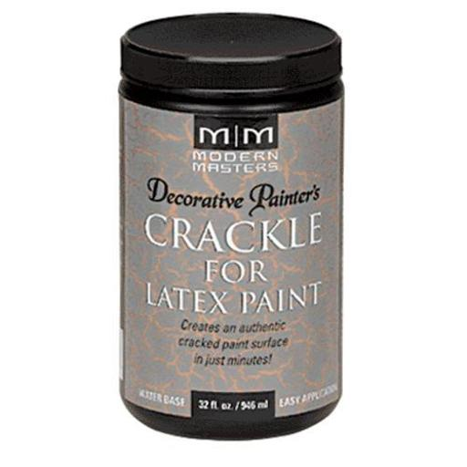 Modern Masters Dp601-32 Crackle For Latex Paint, 32 Oz