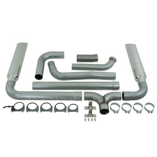 MBRP S9201AL SMOKERS Aluminized Turbo Back Exhaust System 1678047