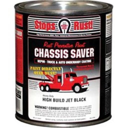 Magnet Paint & Shellac UCP99-04 1 qt Chassis Saver Paint, Stops & Prevents Rust - Gloss Black