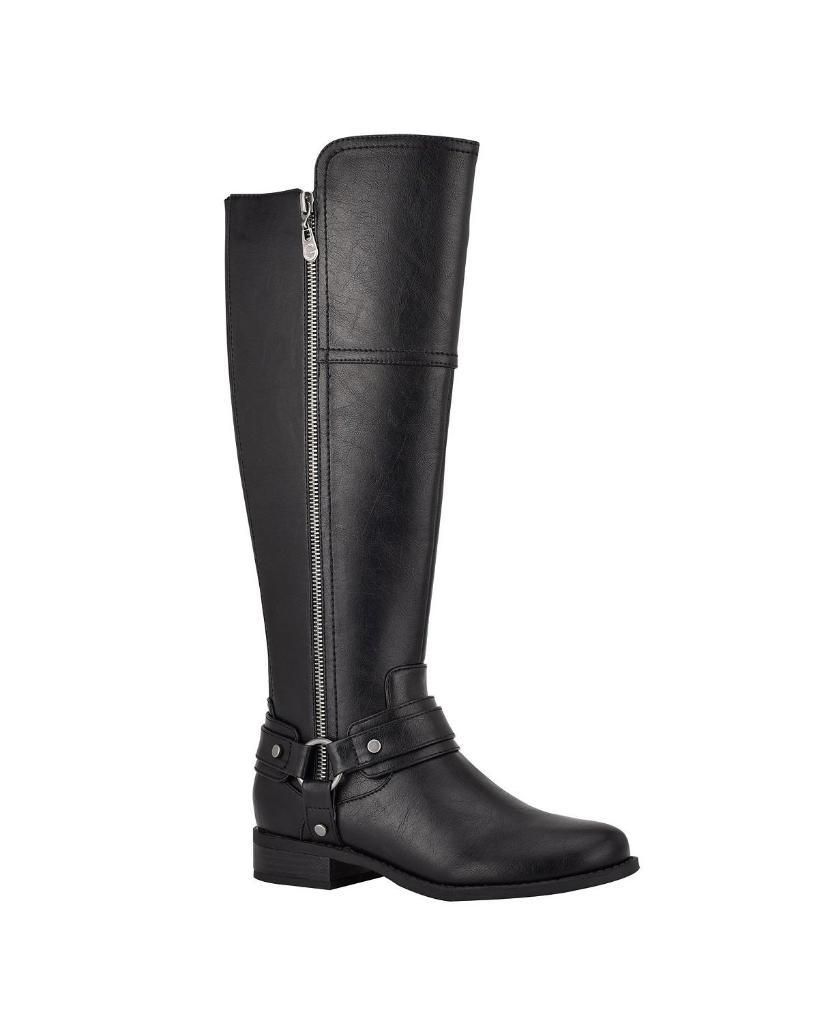 GBG Los Angeles Womens Harlea Regular Calf Tall Riding Boots
