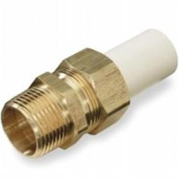 King Brothers 110672 Transition Union Cpvc-Ss .25 In. Cts Cpvc Spigot X.25 In. Mipt Lead Free