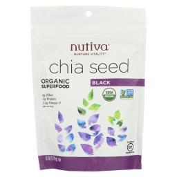 Nutiva Organic Seeds - Chia - Case of 12 - 6 oz.