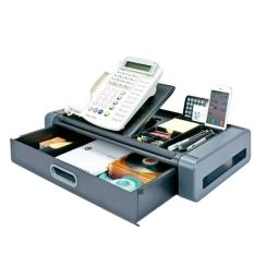 Aidata USA PS-1002G Deluxe Phone Station Desk