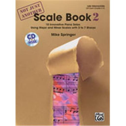 Alfred 00-32005 Not Just Another Scale Book- Book 2 - Music Book