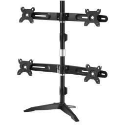 Amer networks amr4su quad/4 monitor desk stand
