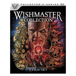 Wishmaster collection (4films) (blu ray) (ws/eng/sp eng/eng sdh/5.1dts-hd) BR51674