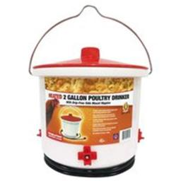 Farm Innovators 7195613 2 gal Poultry Heated Drinker