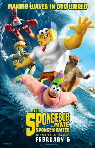 The SpongeBob Movie Sponge Out of Water Movie Poster (11 x 17) IBOVOIBXAHN89XHW