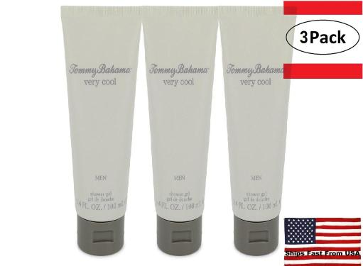 3 Pack Tommy Bahama Very Cool by Tommy Bahama Shower Gel 3.4 oz for Men Improve your reputation and popularity with a few sprays of Tommy Bahama Very Cool fragrance. Created by Tommy Bahama in 2006, this all-in-one men's fragrance can be used in a casual setting or while out on a fancy date with your significant other. Take advantage of the ginger and mandarin orange notes for an indolic twist and nutmeg for a masculine edge to your night.