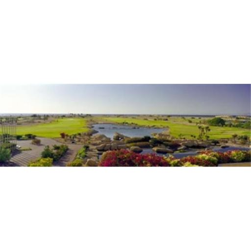 Panoramic Images PPI128069L Pond in a golf course The Cascades Golf & Country Club Soma Bay Hurghada Egypt Poster Print by Panoramic Images - 36 x