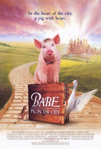 Babe Pig in the City Movie Poster (11 x 17) ZDOIKLZ7Q99AWQY2