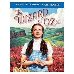 Wizard of oz-75th anniversary (blu-ray/3-d/2 disc) (3-d) BR396733
