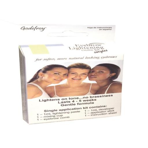 Godefroy 403 Eyebrow Color Lightening Creme Single Use Application 6BF2D5E3235444D5