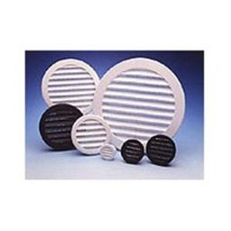 Maurice Franklin PLW1002 2 in. Round White Plastic Louver