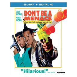 Dont be a menace to south central while drinking your juice in hood(blu ray BR46434