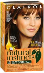 Clairol Natural Instincts Non-permanent Haircolor 5g Medium Golden Brown, Pack Of 3
