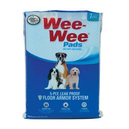 Four paws 100534710 white four paws wee-wee pads 7 pack white 22 x 23 x 0.1