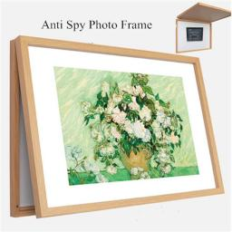 Ankaka F50707 Home Security Decoration Picture Frame for Hiding & Covering Safe F50707