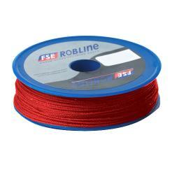 Fse robline waxed tackle yarn  0.8mm red