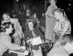 On the set of Susan Slept Here Photo Print GLP473715