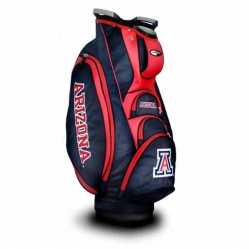 TEAM GOLF 20273 University of Arizona Victory Cart Bag