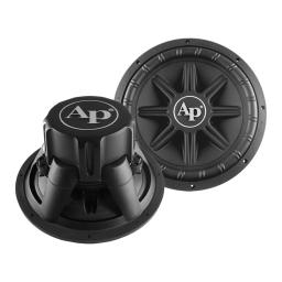Audiopipe ts-px-1550 audiopipe 15 woofer 500w rms/1000w max dual 4 ohm voice coils