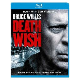Death wish (2018)(blu-ray/dvd/dhd/2 discs) BRM136114
