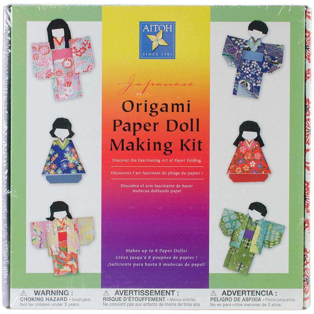 Japanese Origami Paper Doll Making Kit