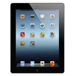 Apple iPad 2 MC916LL/A Tablet 64GB, Wifi, Black 2nd Generation