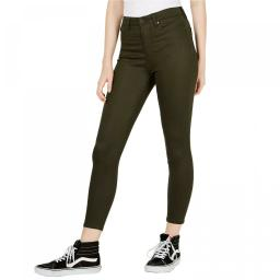 Celebrity Pink Women's High Rise Ankle Super Skinny Jeans 0 Olive Green Night
