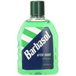 Barbasol Brisk After Shave, 5 Ounce - 6 per case.